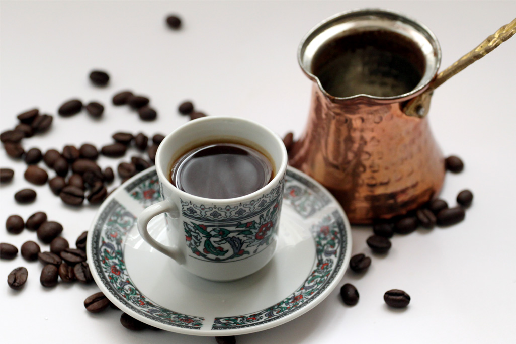 Arabic Coffee Cup Reading